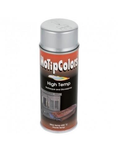 Maali lämmönkestävä hopea spray 400ml