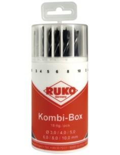 RUKO KIERUKKAPORASARJA PYÖREÄ 1.0-10.0 / 0.5mm