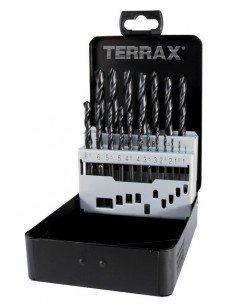 RUKO KIERUKKAPORASARJA TERRAX® DIN338 1.0-10.0 / 0.5mm