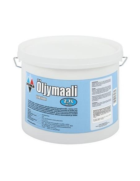 Öljymaali valkoinen 2,7L