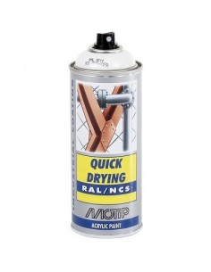 Maali valkoinen RAL9010 akr. spray 400ml