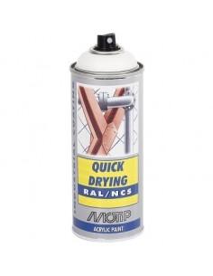 Maali valkoinen matta RAL9010 akr. spray 400ml