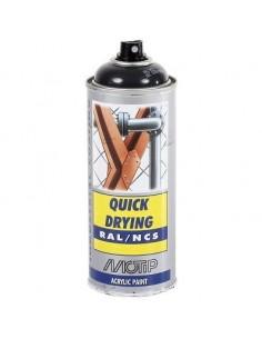 Maali musta harmaa RAL7021 akr. spray 400ml