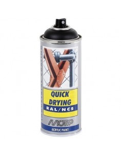 Maali musta matta RAL9005 akr. spray 400ml