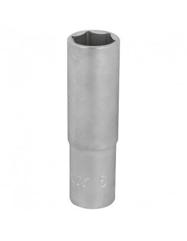 Hylsy 6-kulma 76mm 1/2- 16mm S