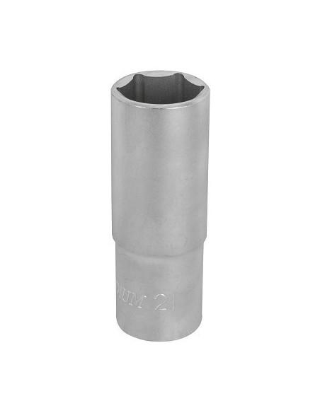 Hylsy 6-kulma 76mm 1/2- 21mm S