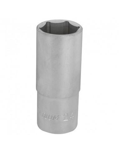 Hylsy 6-kulma 76mm 1/2- 24mm S