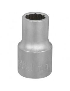 """Hylsy 1/2""""- 11mm 12-kulma matta"""