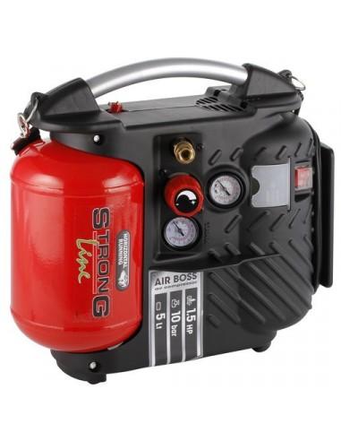 Kompressori 180l 1,1kW 5l öljytön kannettava Strongline